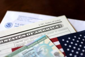 United State of America Permanent Resident Card