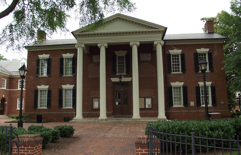 Historic County Courthouse, Charlottesville (Virginia - USA)
